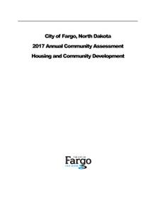 2017 Annual Community Assessment