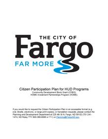 Citizen Participation Plan for HUD Programs