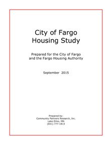 City of Fargo Housing Study