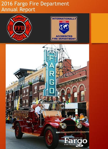2016 Fargo Fire Department Annual Report