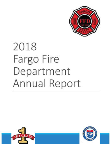 2018 Fargo Fire Department Annual Report