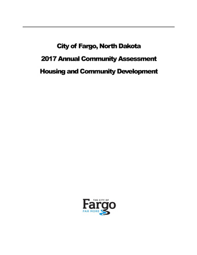 2017 Annual Community Assessment