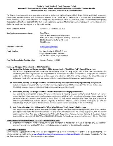Public Notice 2021 AAP Amendment