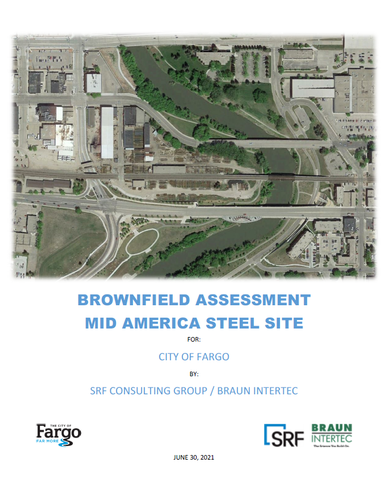 Brownfield Assessment Mid America Steel Site