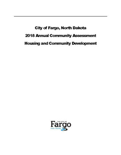 2018 Annual Community Assessment