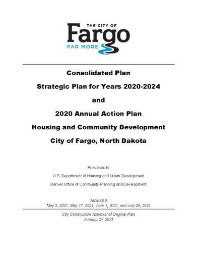 2020-2024 Consolidated Plan and 2020 Action Plan