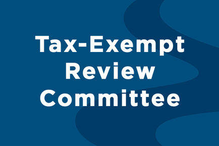 Tax-Exempt Review Committee