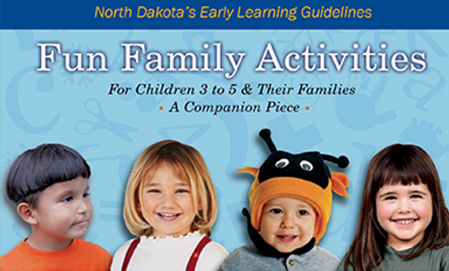 Fun Family Activities for Children 3 to 5 & Their Families (PDF)