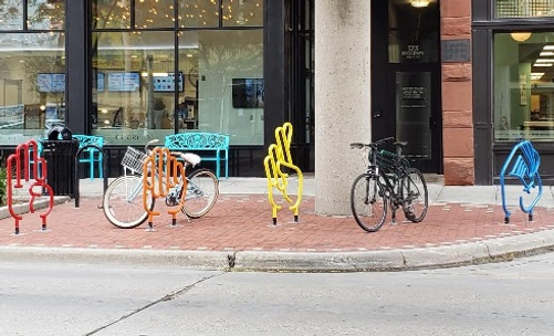 Creative Bike Rack