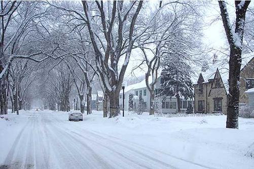 Winter In Fargo