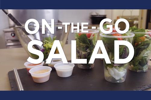 On the Go Salad