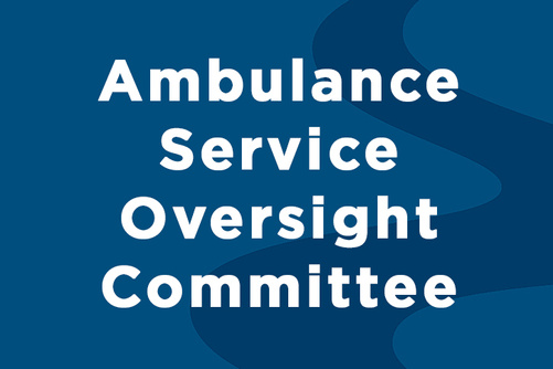 Ambulance Service Oversight Committee