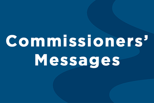 Commissioners' Messages