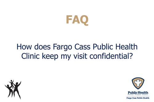 How does FCPH keep my visit confidential?