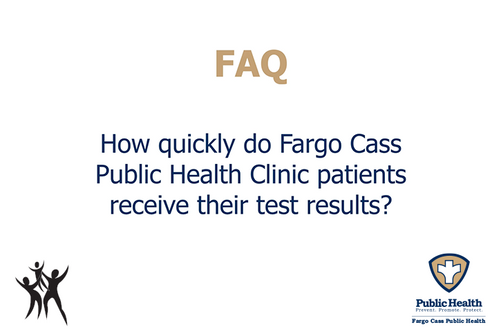 How quickly do patients receive results?