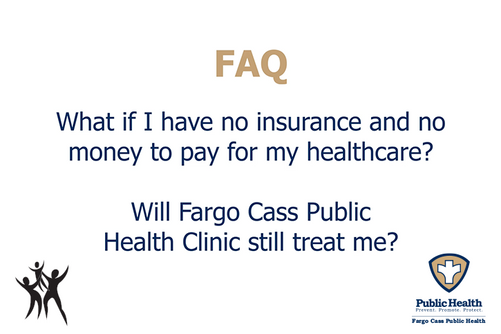 Will the FCPH Clinic provide services if I don't have insurance?