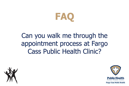 What is the appointment process at the FCPH Clinic?