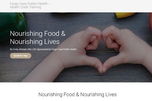 Nourishing Food & Nourishing Lives