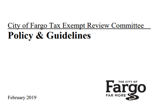 Tax-Exempt Review Committee Policy & Guidelines