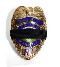 Fallen Officer Badge