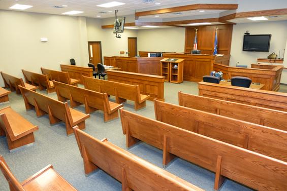 Municipal Court Room