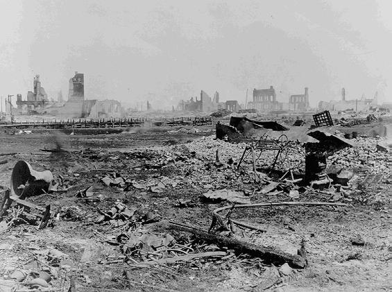 Fargo Fire 1893