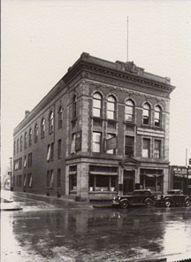 AOUW building built in 1905,  114 Roberts Street,  NDIRS 2023.81.1