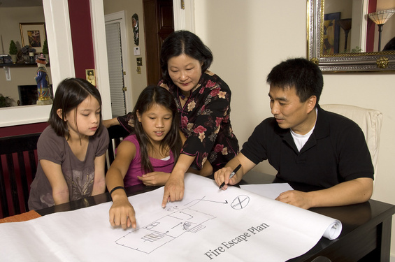 Fire Escape Planning with Family