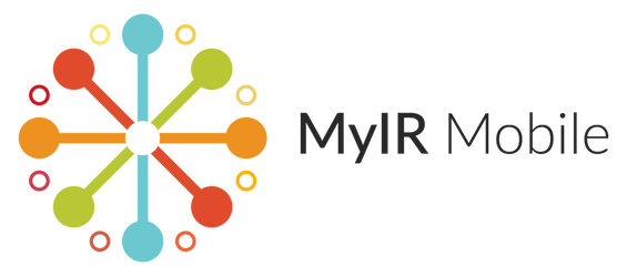 MyIR Mobile logo (horizontal)