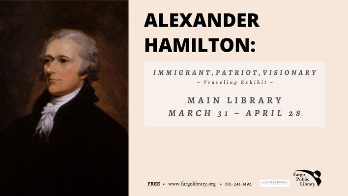 Alexander Hamilton traveling exhibit