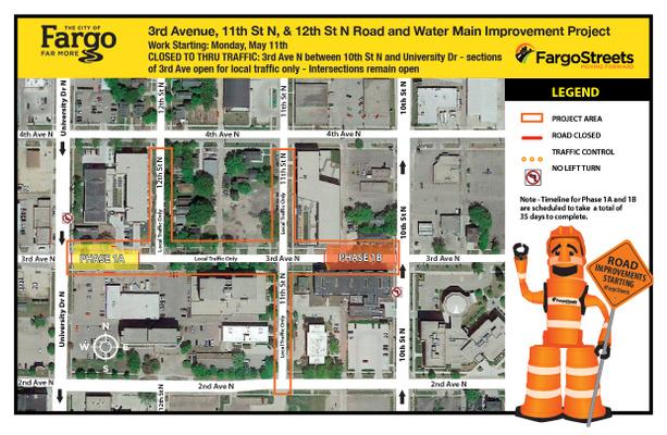 Upcoming Traffic Pattern Map