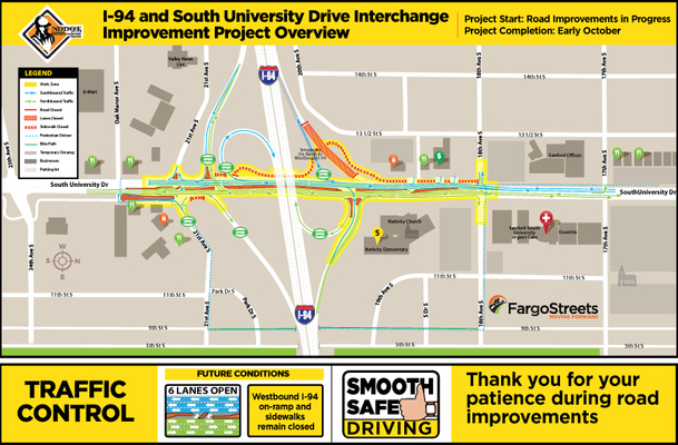 Current Traffic Pattern Map