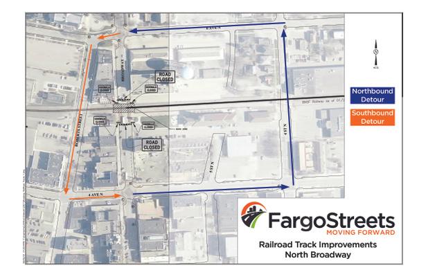 Broadway Railroad Crossing Improvements