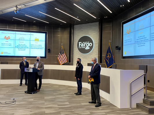 Greater Fargo Moorhead EDC President and Chief Executive Officer Joe Raso - Amazon Announcement - 10.30.2020