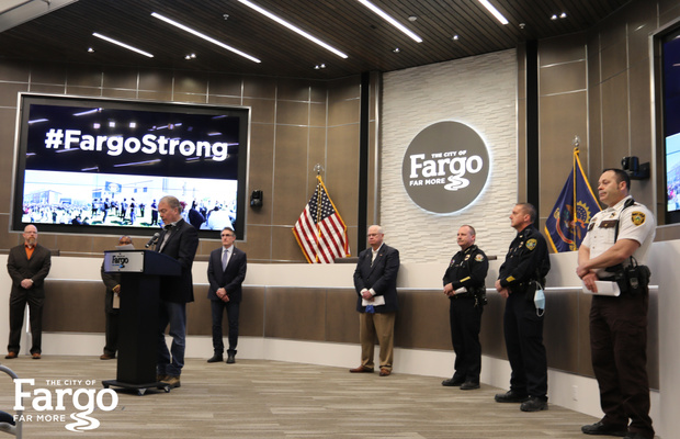 #FargoStrong Press Conference Images