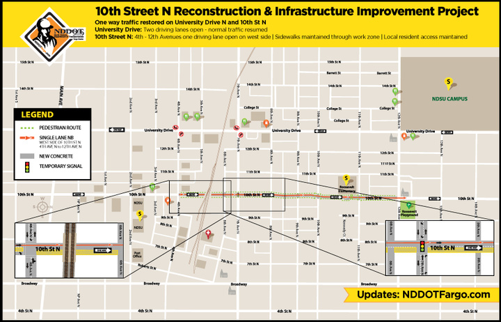 10th Street North Reconstruction Project