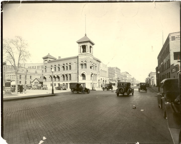 Police and City Hall 1926