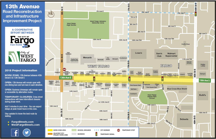 13th Avenue Road Reconstruction and Infastructure Improvement Project