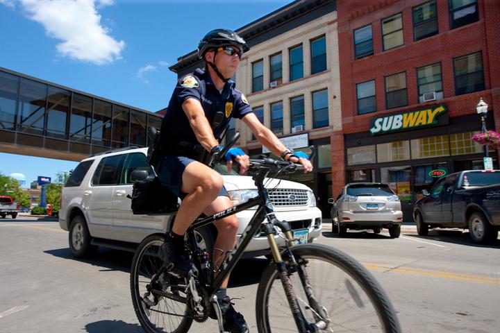 wahl bike downtown