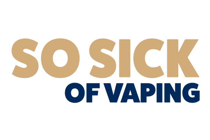 So Sick of Vaping Image