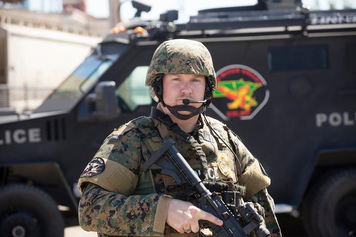 Sgt Christensen SWAT