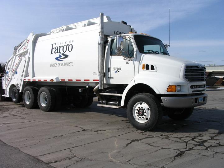 Rearload Garbage Truck