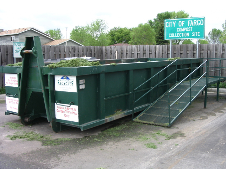 Yard Waste Container