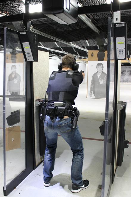 new hire pistol trianing
