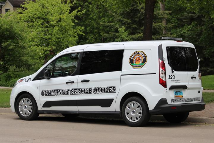 Community Service Officer Van