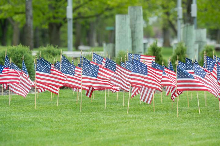 LE Memorial Flags