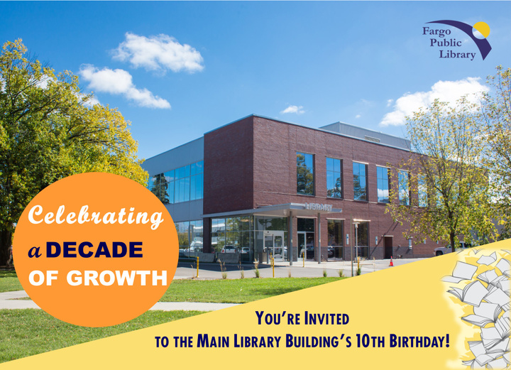 Main Library Building 10th Anniversary
