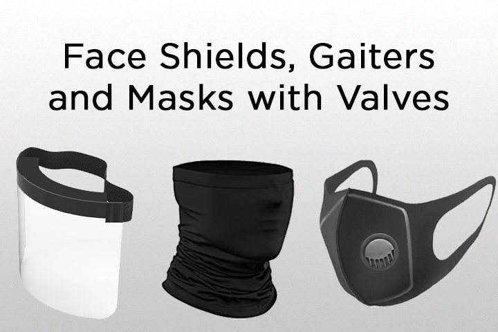 Mask Alternatives (not recommended)