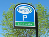 Municipal Court parking sign