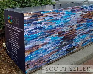 North Dakota Cloud Collage- Scott Seiler- 4th Ave. & Broadway